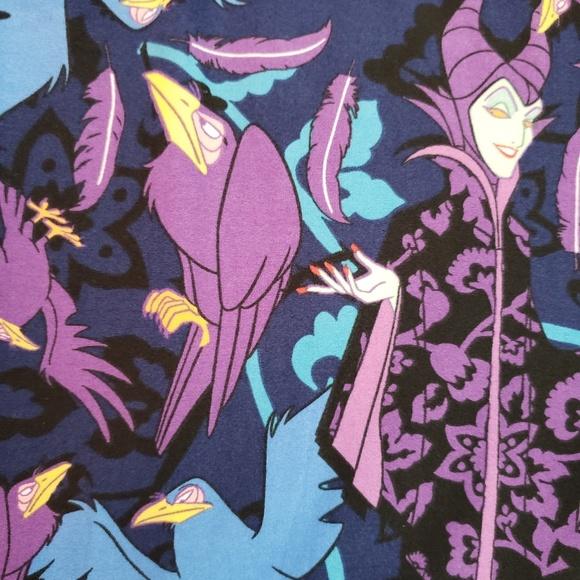 🦄 Lularoe Disney Villain Maleficent Leggings TC